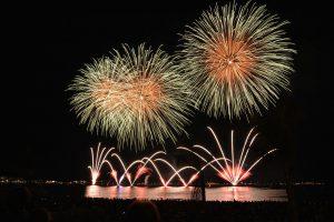 Feuerwerk Kirschblütenfest
